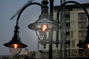 Street Glass Art Originals - Street Lamp by Yavor Kanchev
