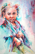 African Child Originals - Street Life by Stephie Butler