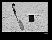 Xoanxo Cespon Photo Posters - Street light shadow Poster by Xoanxo Cespon