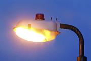 Resistor Prints - Street Lighting With Photoelectric Switch Print by Martyn F. Chillmaid