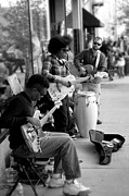 Street Photography Digital Art - Street Musicians  by Gray  Artus
