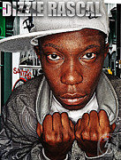 Uk Mixed Media - Street Phenomenon Dizzie Rascal by The DigArtisT