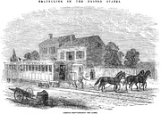 American City Prints - Street Railway, 1852 Print by Granger
