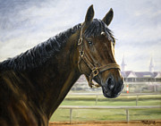 Pdjf Framed Prints - Street Sense at Churchill Downs Framed Print by Thomas Allen Pauly