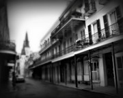 St Charles Photos - Street to Jackson Square by Perry Webster