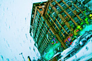 Kiev Art Prints - Street view 1 Print by Alain De Maximy