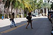 Miami Digital Art Originals - Street Walkers by Rob Hans