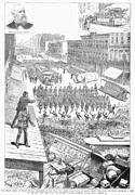 Escort Photos - Streetcar Strike, 1886 by Granger