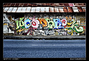 Pos Prints - Streeti Graffiti Print by Sarita Rampersad