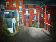 Brick Originals - Streets of Montreal  Joly by Reb Frost