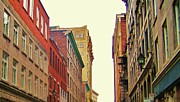 City Streets Photo Originals - Streets of Montreal by Reb Frost
