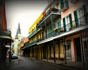 St Charles Photos - Streets of New Orleans by Perry Webster