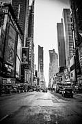 Streets Of Ny Print by Ken Marsh