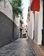 Puerto Rico Photo Originals - Streets of San Juan  by Sabrina  Hall