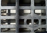 Grate Photos - Streets Of Tucson 125 by Marlene Burns
