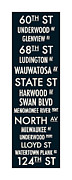 Hart Framed Prints - Streets of Wauwatosa Framed Print by Geoff Strehlow