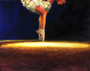 Athletic Painting Originals - Strength. Confidence. Deauty by Sandra Jones