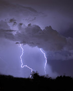 Lightning Strike Photos - Strike I by Heather Applegate