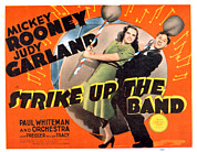 Posth Posters - Strike Up The Band, Judy Garland Poster by Everett
