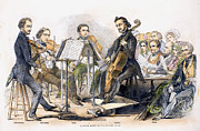 String Quartet, 1846 Print by Granger