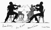 Quartet Metal Prints - STRING QUARTET, c1935 Metal Print by Granger