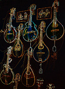 Ibanez Prints - String Sounds Print by David Bearden