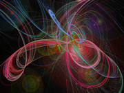 Awe Digital Art - Strings In Motion by Andee Photography