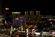 Las Vegas Nevada Prints - Strip View - Las Vegas Print by Brendan Reals