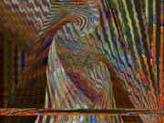 Bonding Digital Art - Stripe Amazement Bonding by Beverly Kimble Davis