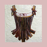 Corset Originals - Striped Corset by Marianne Clancy