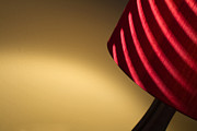 Lamp Photos - Striped Light by Rebecca Cozart