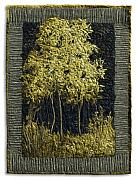 Black Tapestries - Textiles - Striped Maple by Lorraine Roy