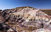 Petrified Forest National Park Prints - Striped Mountains Print by Adam Jewell