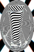 Op Art Photo Posters - Striped Water 2 Poster by Steve Purnell