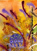 Divine Wisdom Paintings - Strokes of LOVE by Angela L Walker