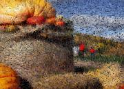 Featured Digital Art - Strolling Through Autumn by Tingy Wende