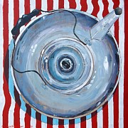 Teapot Paintings - Strong And Stout by Micheal Jones