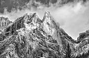 Rocky Mountain Prints Framed Prints - Structure Framed Print by Ian Woods