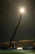 Time Off Prints - Sts-116 Space Shuttle Discovery Launch Print by NASA / Science Source