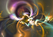 Mathematical Originals - Stuck on you - Fractal art by Sipo Liimatainen