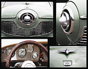 Teen Decor Framed Prints - Studebaker Collage Print Framed Print by ArtyZen Studios