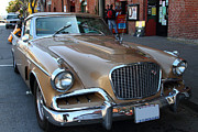 Transportation Acrylic Prints - Studebaker Golden Hawk . 7D14179 Acrylic Print by Wingsdomain Art and Photography