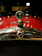 Transportation Metal Prints - Studebaker Hood Ornament Metal Print by Wingsdomain Art and Photography