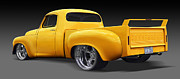 Painted Digital Art Prints - Studebaker Truck Print by Mike McGlothlen