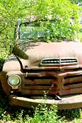 Rusted Dashboard - Studebaker Truck by Pauline Ross