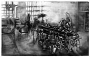 Studio Loft At Dawn Print by Al Goldfarb