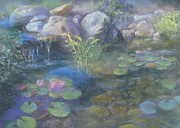 Bill Puglisi - Study for Water Garden