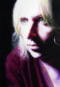 Super Realism Painting Prints - Study of Alice Print by Denny Bond