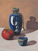 Sake Paintings - Study of Ceramic by Adam Strong