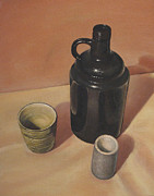 Jug Painting Originals - Study of Reflection by Adam Strong